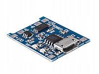 Зарядное устройство LI-ION TP4056 MICRO USBс защитой