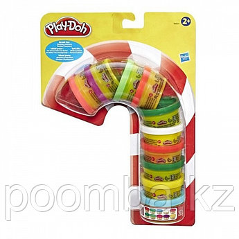 Play Doh Набор пластилина для праздника- Масса для лепки Плей До