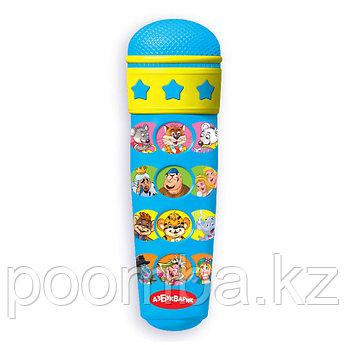 Развивающая музыкальная игрушка Караоке с мультяшками