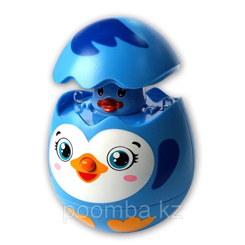 Развивающая музыкальная игрушка Яйцо-сюрприз Пингвинчик