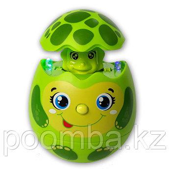 Развивающая музыкальная игрушка Яйцо-сюрприз Черепашка