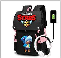 Brawl stars (бравл старс) школьный рюкзак, фото 1