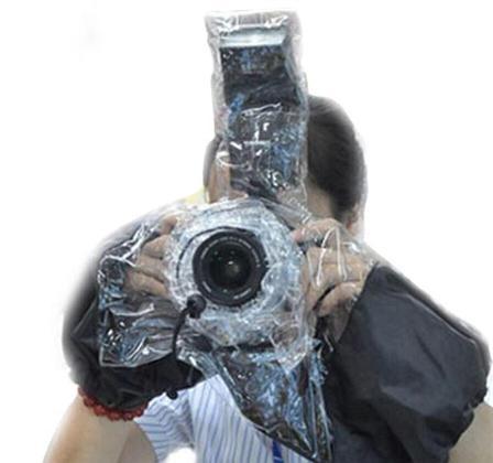 Дождевик полупрозрачный для фотоаппарата Fulat, фото 2