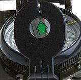 Компас походный универсальный жидкостной в металлическом корпусе, фото 5