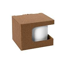 Коробка для кружек 23504, 26701, размер 12,3х10,0х9,2 см, микрогофрокартон, коричневый, коричневый, , 21043