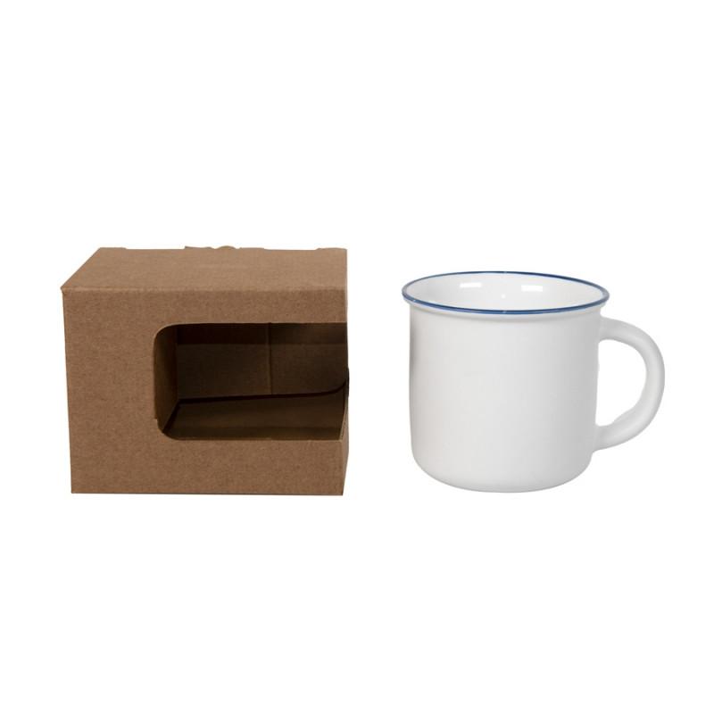 Коробка для кружек 23504, 26701, размер 12,3х10,0х9,2 см, микрогофрокартон, коричневый, коричневый, , 21043 - фото 3