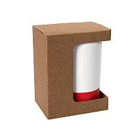 Коробка для кружки 26700, размер 11,9х8,6х15,2 см, микрогофрокартон, коричневый, коричневый, , 21041