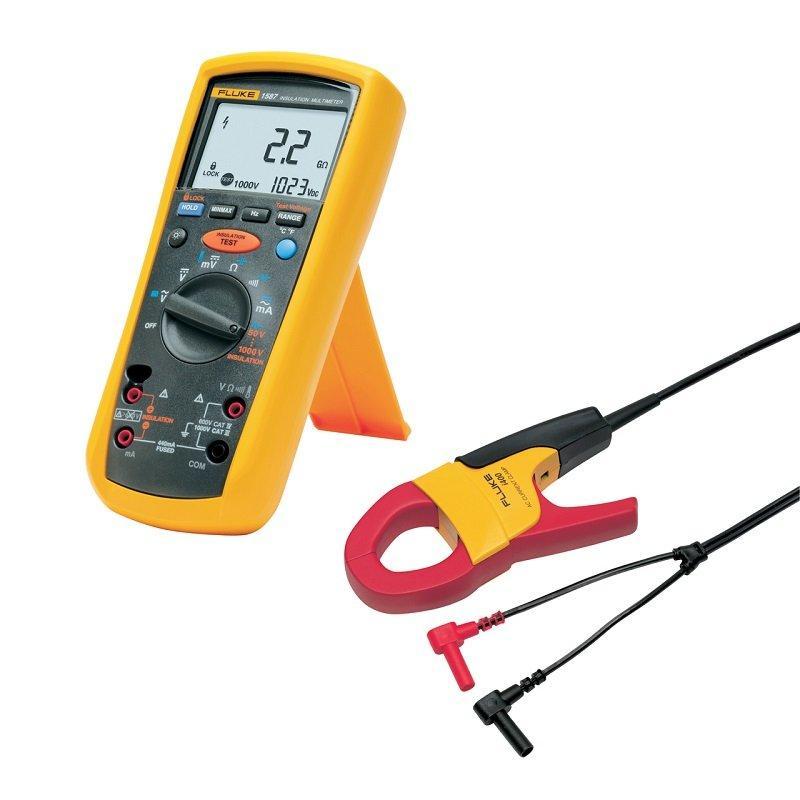 Комплект Fluke 1587KIT/62MAX+ FC - мультиметр-мегомметр c функцией беспроводной связи + токовые клещи + инфракрасный термометр