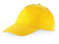 Бейсболка Memphis 5-ти панельная, золотисто-желтый (Р)