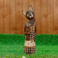 Сувенир 'Кошка в сарафане в горошек'