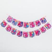 Гирлянда 'С Днем Рождения', Little Pony, дл. 215 см