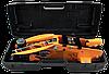Домкрат гидравлический подкатной ДМК-2,5ФК (2,5 т, 140-390 мм, с фиксатором, в кейсе) Вихрь, фото 2