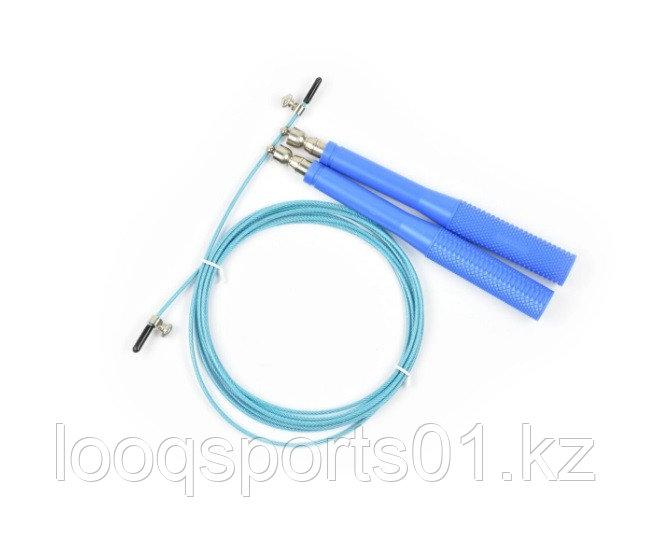 Скоростная скакалка для кроссфита пластиковые ручки 1281
