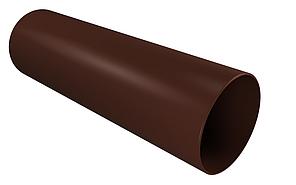 Труба водосточная 90x3000 мм Коричневый  VINYLON