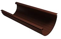 Желоб водосточный 125x3000 мм Коричневый VINYLON