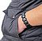 Лечебный браслет Бяньши из черного нефрита, фото 5