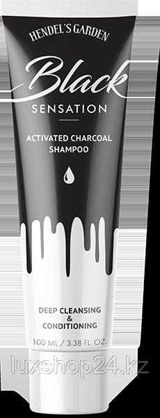 Black Sensation угольный шампунь для волос