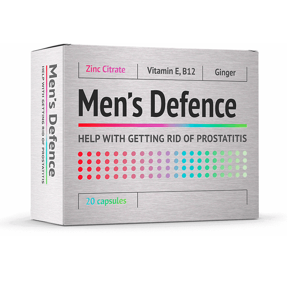 Men's Defence капсулы от простатита