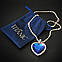 Ожерелье Сердце океана (кулон из фильма «Титаник»), фото 5
