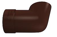 Колено сливное 90 мм Коричневый VINYLON