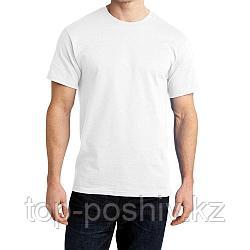 "Футболка для сублимации Сэндвич ""Unisex"" цвет: белый, размер 42(2XS)"