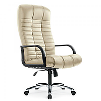 Офисное массажное кресло  ZENET ZET 1100 БЕЖЕВОЕ