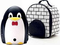 Детский компрессорный ингалятор (небулайзер) - Пингвин