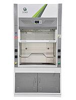 Шкаф вытяжной металлический с керамической рабочей поверхностью 1200х800х2350 мм