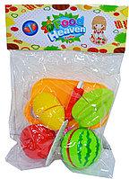 """Rz910-7 Фрукты и овощи можно резать """"Food Heaven"""" 27*19см"""