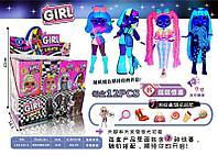 "LK 1142 ""Girl Light"" Кукла сюрприз 12шт в уп.,цена за 1 шт 26*9см"