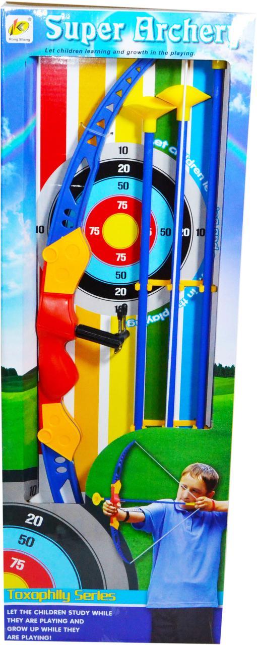 951 Super archery лук+3стрелы 55*20см