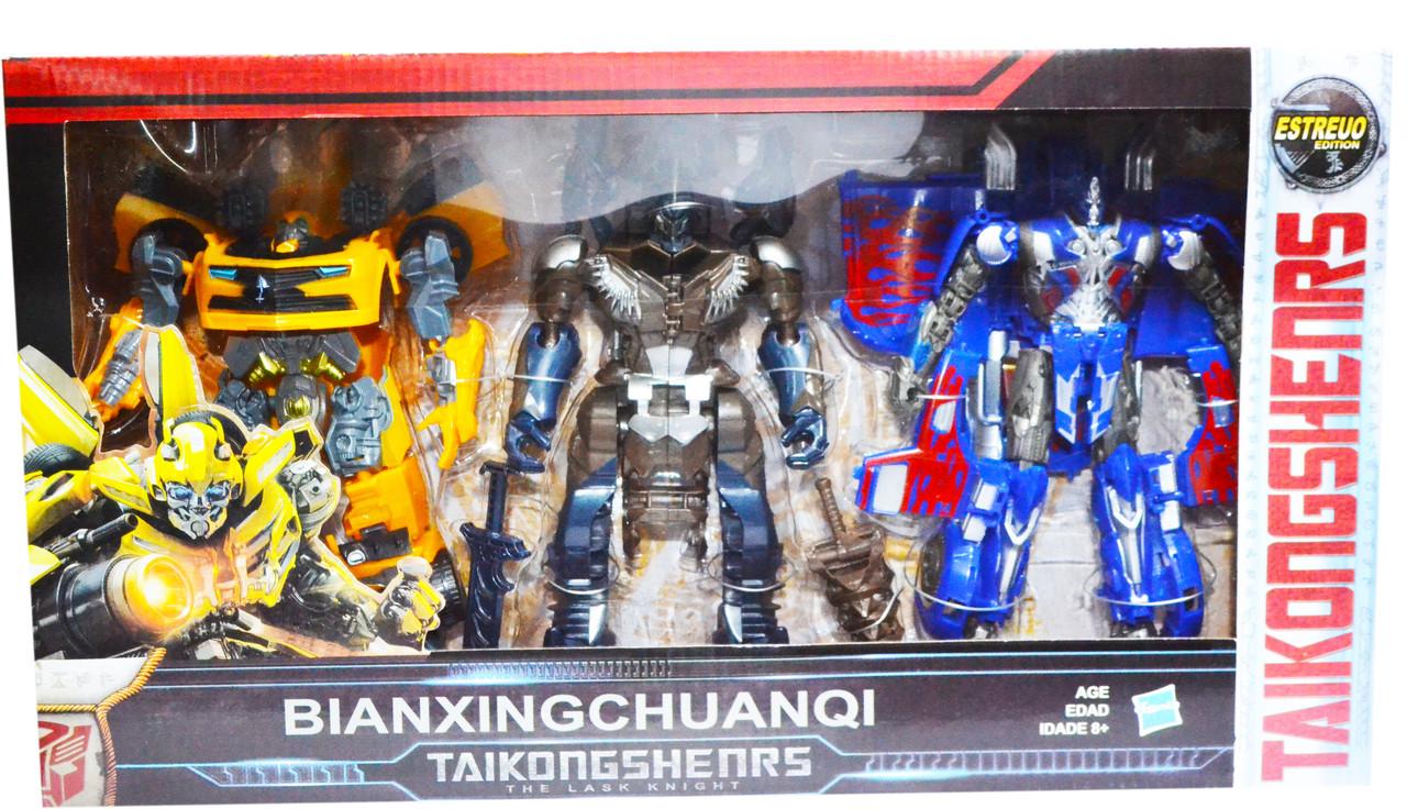 6334 Трансформеры 3 в 1 Bianxingchuanqi 45*25