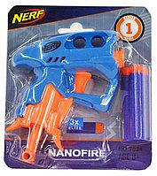 7024 Бластер пистолет Nerf 3 патрона 17*15
