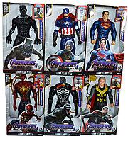 8818-23 Фигурки героев Avengers and game разные виды 31*18, фото 1