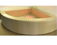 Сухой бассейн 1/4 круга 150*150см