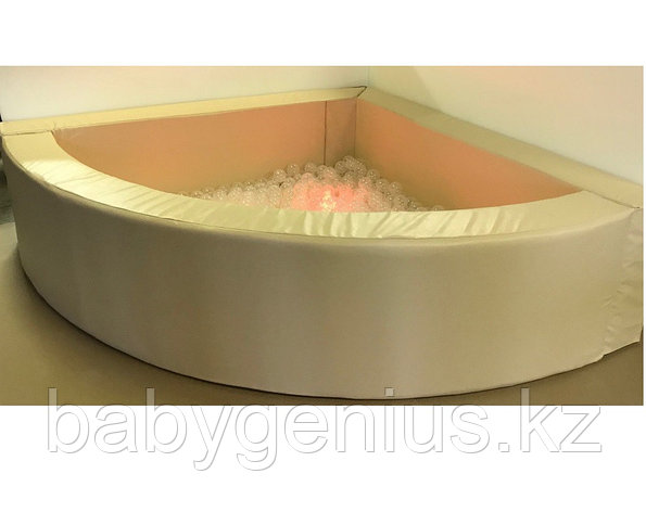 Сухой бассейн 1/4 круга 150*150см, фото 2