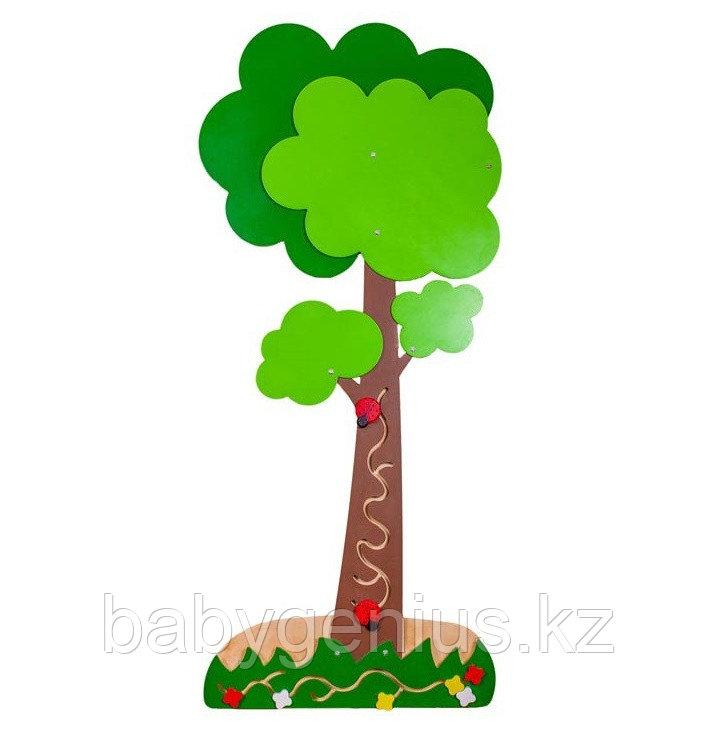 Декоративно-развивающая панель Дерево