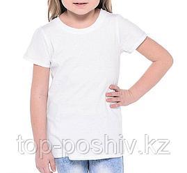 "Футболка ""Сэндвич"" (р-р: 30) ""Fashion kid"" цвет: белый"