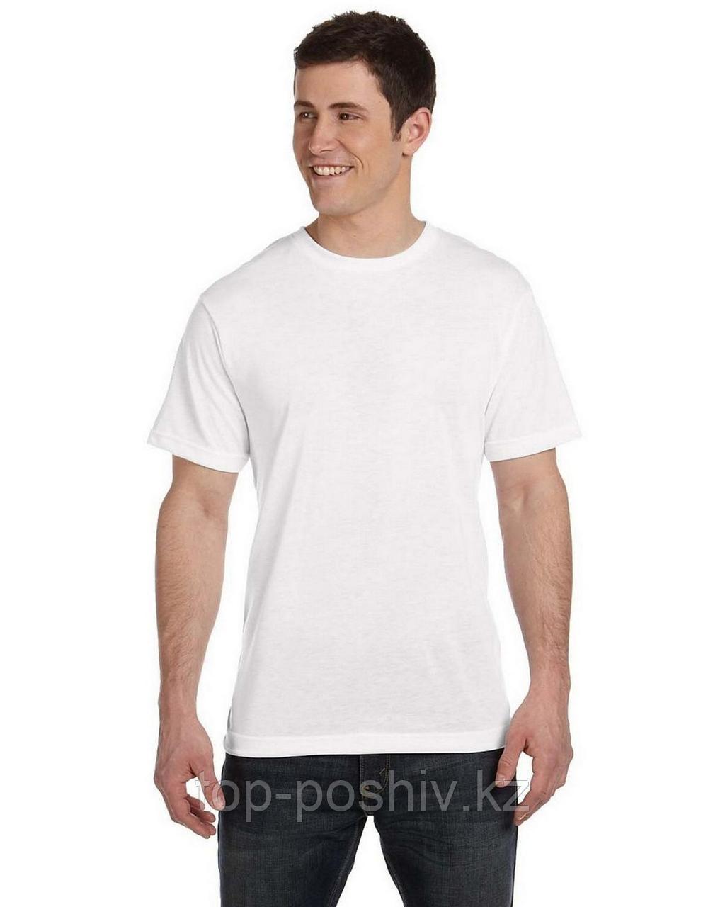 """Футболка для сублимации Джерси 140 """"Unisex"""" цвет: белый"""