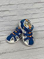 Летние сандалии UOVO 26, синий с оранжевым