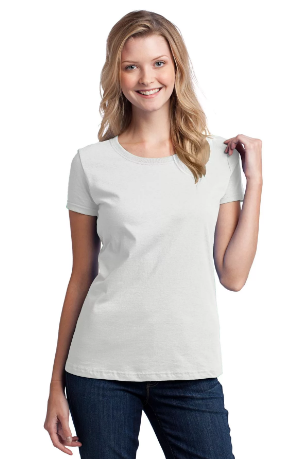 "Футболка для сублимации Эволюшен Премиум ""Style Woman"", цвет белый, размер: 38(4XS)"