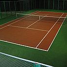 Наливное покрытие для тенниса и его свойства