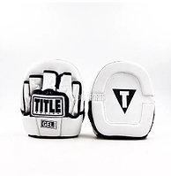 Боксерские лапы Title (кожа)
