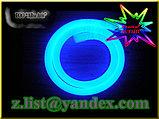 Холодный неон, 220 в 360 градусов, круглый гибкий неон, холодный неон, флекс неон, круглый неоновый шнур, фото 3