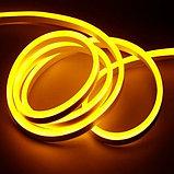Гибкий неон сечение 8х16 мм. 220 в. плитка SMD 3528 холодный неон, флекс неон. Flex LED Neon  220 вольт., фото 7