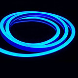 Гибкий неон сечение 8х16 мм. 220 в. плитка SMD 3528 холодный неон, флекс неон. Flex LED Neon  220 вольт., фото 6