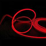 Гибкий неон сечение 8х16 мм. 220 в. плитка SMD 3528 холодный неон, флекс неон. Flex LED Neon  220 вольт., фото 10