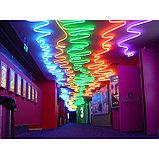 Холодный неон для фасада зданий. матрица 220в SMD 3528, Flex LED Neon , гибкий неон, холодный неон, фото 10