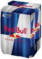 Напиток энергетический Red Bull 250 мл 4 шт