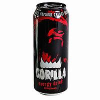 Gorilla энергетический напиток гранат и малина, 0,45 л.